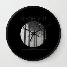 Nemophilist V Wall Clock