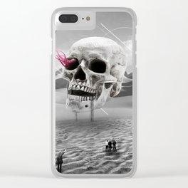 DSRTSkull Clear iPhone Case