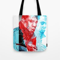 jay z Tote Bags featuring JAY-Z by michael pfister