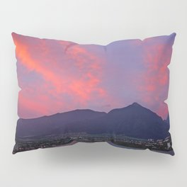 Red Glow Pillow Sham