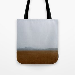 Misty Marsh Tote Bag