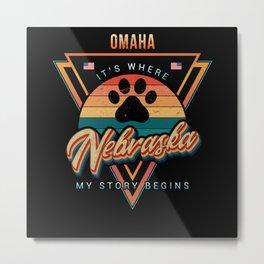 Omaha Nebraska Metal Print