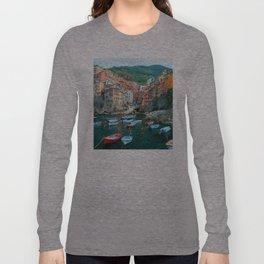 Italy. Cinque Terre marina Long Sleeve T-shirt