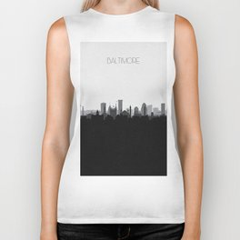 City Skylines: Baltimore (Alternative) Biker Tank