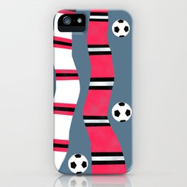 Mancunian Soccer (Football) Scarves iPhone Case