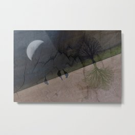 switch Metal Print