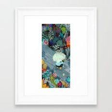 Rainworms Framed Art Print