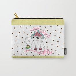 Prima donna Pug Rules the World Carry-All Pouch