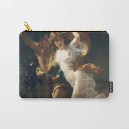 The Storm by Pierre-Auguste Cot 1880, French Carry-All Pouch