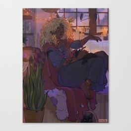 Witch Lupita Canvas Print