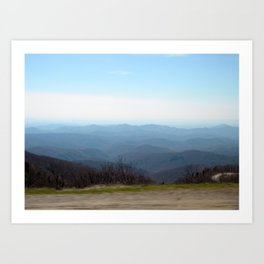 Majestic Mountains Art Print