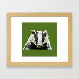 Animals endangered by HS2 (#stophs2) Framed Art Print