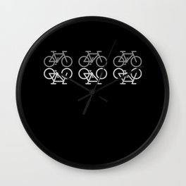 RETRO BIKE Funny Cycling Gift Bicycle Rider Wall Clock