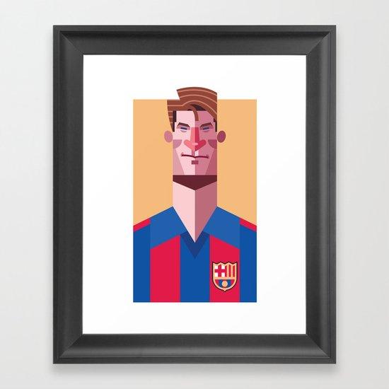 ML9 | Blaugrana Framed Art Print