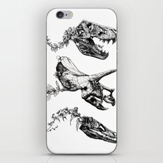 Jurassic Bloom. iPhone & iPod Skin