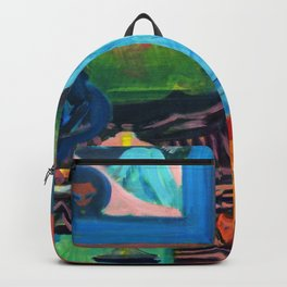 Patient in the Night, The Patient - Ernst Ludwig Kirchner Backpack