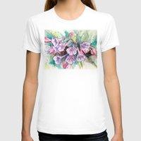 virginia T-shirts featuring virginia bluebells by Beth Jorgensen