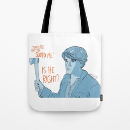 The Riddle - John Dies At The End Tote Bag