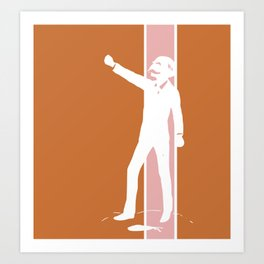 Rusty Rose Revolution Art Print
