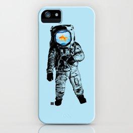 Goldfish Astronaut iPhone Case