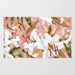 Summer Floral Pattern IV Rug