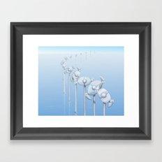 The Alternative Wind Farm Framed Art Print