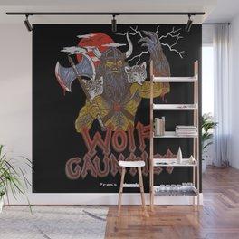 Wolf Gauntlet Wall Mural