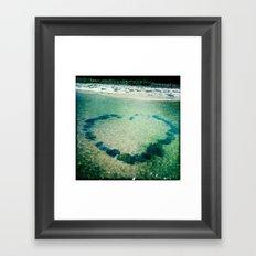 Bay Love Framed Art Print