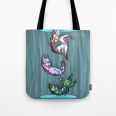 Fighting Dreamers- Thinking with Portals Tote Bag