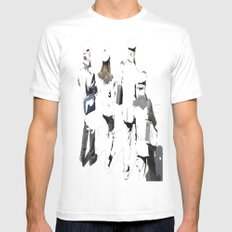 banda musicale Mens Fitted Tee SMALL White