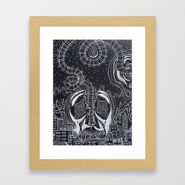 """""""Split Tracks"""" Art Framed Art Print"""