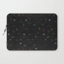 Cactus Silk In Black Laptop Sleeve