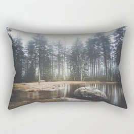 Moody mornings Rectangular Pillow