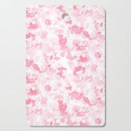 Abstract Flora Millennial Pink Cutting Board