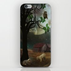 By the Moon Light iPhone & iPod Skin