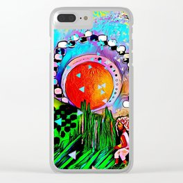 Free Spirits Clear iPhone Case
