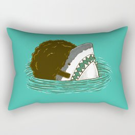 The 70's Shark Rectangular Pillow