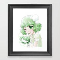 Kashiwa mochi Framed Art Print