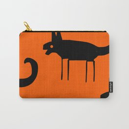 Sunset In Jungle Carry-All Pouch