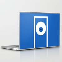 monsters inc Laptop & iPad Skins featuring Monsters inc (no title) by Citron Vert