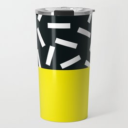 Memphis pattern 21 Travel Mug