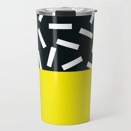 Memphis pattern 21 Travel Mug