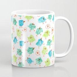 Scribble Birds Coffee Mug