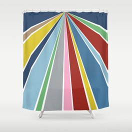Star Fan 2 Shower Curtain