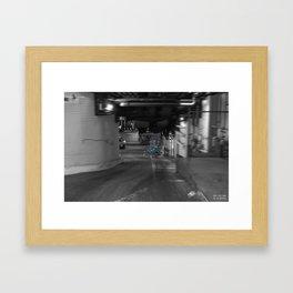 Unseen Monsters of Melbourne - Big Jules Framed Art Print