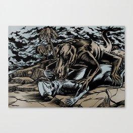 Dinolove Canvas Print