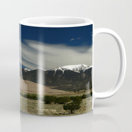 High Mountains and Sand Dunes Coffee Mug