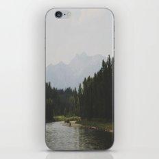 Mountainscape iPhone & iPod Skin