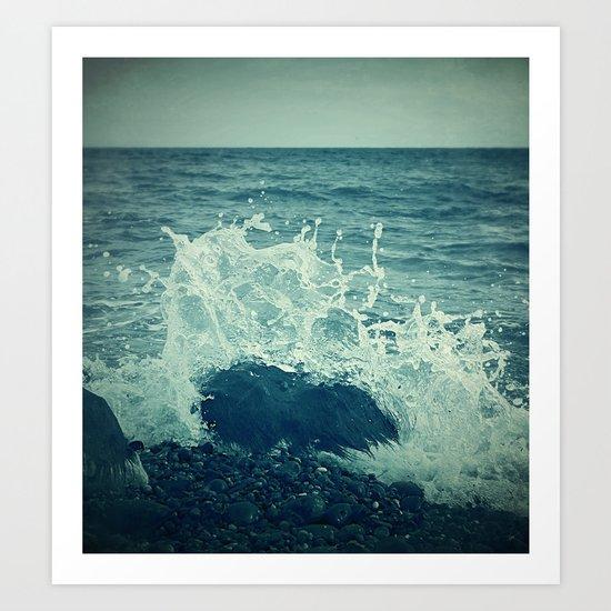 The Sea III. Art Print