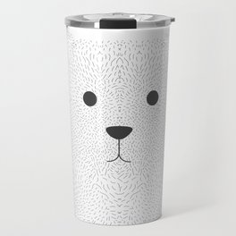 Bear's face Travel Mug
